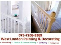 Painting and Decorating Services.