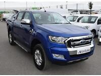 Ford Ranger 2.2 TDCI Limited 1 Double Cab - £237 + VAT per month