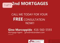 Self employed? 1st and 2nd Mortgages. Providing peace of mind.