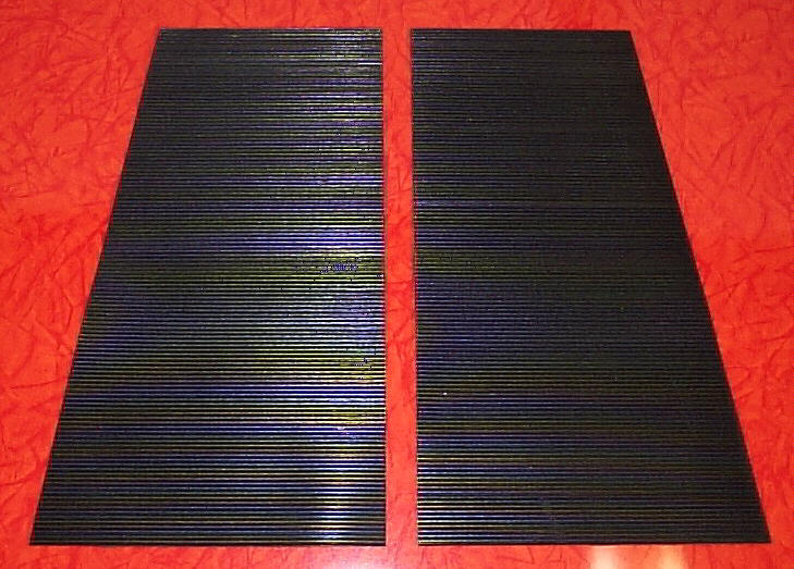 Wheel Horse D Series 160 180 200 Tractor Ribbed Rubber Foot Board Mats BRAND NEW