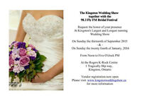 Kingston Wedding Show Fall and Winter Dates