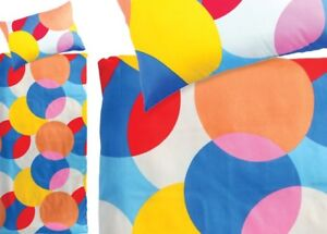 new Bedding KIDS Twin Duvet Cover Set, Blue Red Yellow Orange
