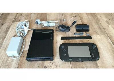 Nintendo Wii U - 32 GB - Black Handheld System Console