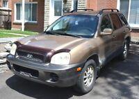 2004 Hyundai Santa Fe VUS