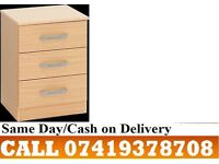 Akira C BUDGET Two Door Wardrob-CHEST OF DRAWERS PRE ASSEMBLED
