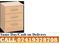 Budget 2 Door assembeld Wardrobe and Chest of Drawers