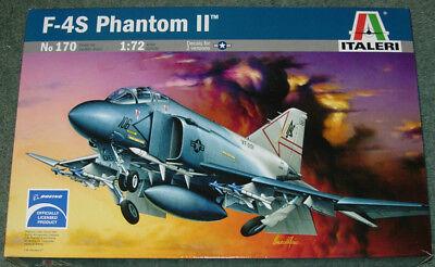 Italeri Phantom II F-4S 1:72 Model Kit New & Sealed
