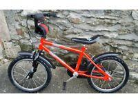 "Boys 16"" bicycle VGC"