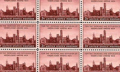 1946 - SMITHSONIAN - #943 Full Mint -MNH- Sheet of 50 Postage Stamps