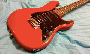 Fernandes Japan L series 1980's Stratocaster Red ..WILL POST Redlynch Cairns City Preview