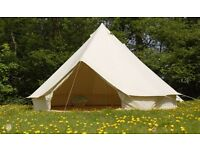 Bell Tent Hire 5m ideal for a family
