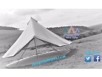 Bell tent hire, Southern Scotland and Northumberland, marquee alternative for weddings and events