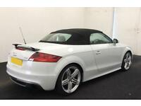 Grey AUDI TTS ROADSTER CONVERTIBLE 2.0 TFS1 Petrol QUATTRO S-T FROM £64 PER WEEK