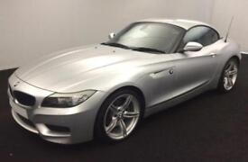 2012 SILVER BMW Z4 2.0 SDRIVE28i M SPORT AUTO ROADSTER CAR FINANCE FR £58 PW