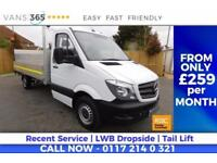 Mercedes Sprinter 14FT ALLOY DROPSIDE WITH TAIL LIFT CRUISE CONTROL BLUE TOOTH 1