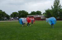 Try bubble soccer/knockerball for the lowest price in the city!