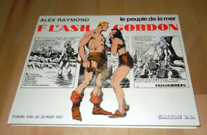 rare album bd de Flesh Gordon EO en format italien (plus large)