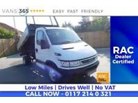 Iveco Daily NO VAT GREAT VALUE SINGLE ALLOY SIDED TIPPER 35C12 3.45 WB