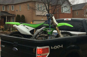 KXF450 Basically stock, trail ridden KX450F - With Ownership
