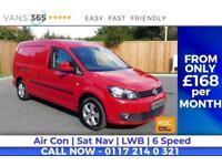 VW Caddy Maxi C20 TDI HIGHLINE BMT AIR CON SAT NAV LWB