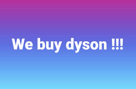 Cash waiting for dysons