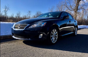 2009 Lexus IS 250 AWD -FULL OPTIONS- CUIR-TOIT-NAVIGATION-CAM