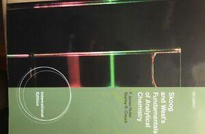 Skoog and Wests Fundamentals of Analytical Chemistry &extra book Windsor Region Ontario image 1
