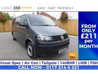 VW Transporter PERFECT CAMPER CONVERSION?... AIR CON 140 BHP 6 SPEED WELL MAINT
