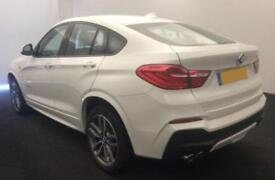 2016 WHITE BMW X4 3.0 XDRIVE35D M SPORT DIESEL AUTO COUPE CAR FINANCE FR £113 PW