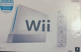 Wii and wii sports