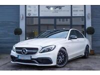 2015 MERCEDES C-CLASS 4.0 C63 AMG 4DR (START/STOP) SALOON PETROL