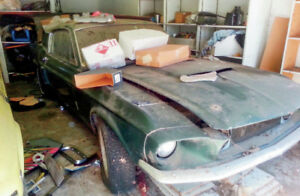 Older car or truck for family restoration project