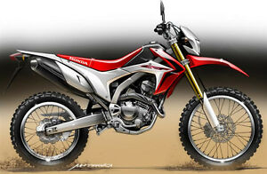 Hardly been used Honda CRF250L