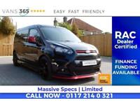 Ford Transit Connect HUGE SPEC LEATHER SEATS AUTOMATIC AIR CON SAT NAV SPORT STY