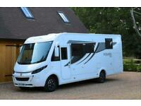 2017 Roller Team Pegaso 740 A Class Motorhome. Auto. Just 12,000 Miles from new.