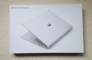 NEW UNOPENED Microsoft Surface Book i5 / 256GB / 8GB RAM / dGPU