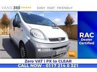 Vauxhall Vivaro 2900 CDTI LWB