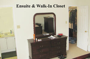 EXTRA LARGE Master Bedroom, Ensuite, Walk-in closet