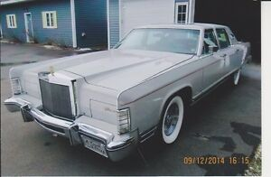 NICE SHOW CAR LINCOLN CONTINENTAL 1978
