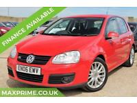 VOLKSWAGEN GOLF 1.4 GT TSI 5D 170 BHP TURBO PETROL IMOLA RED