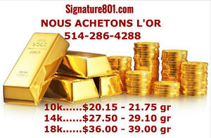 ACHETONS: OR, ARGENT, PLATINE, GOLD ,SILVER, PLATINUM  BUYERS