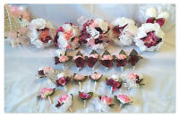 25 piece wedding flower set