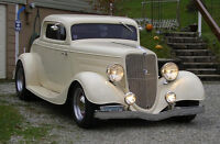 1934 Ford 3 window Coupe Arizona car - 350 Tuned Port Injection
