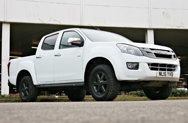 2015 Isuzu D Max 2.5TD Eiger Double Cab 4x4 Auto privacy glass alloys on all ...