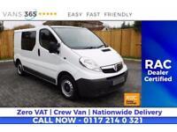 Vauxhall Vivaro NO VAT 2700CDTI KOMBI SWB SHR