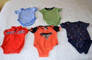 Size 12 months, Onesies for Spring and Summer, $1.00 each