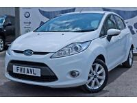 2011 FORD FIESTA 1.2 ZETEC 5 DOOR FULL SERVICE HISTORY NEW MOT BEST COLOUR ALLO