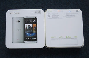 htc m8 32gb unlocked  with box clean  $300