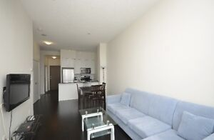 ONE BEDROOM + LARGE SIZE DEN FURNISHED CONDO SHORT/L RENT SQ1