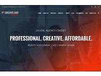 Web Design Cardiff - Professional Websites from just £299! - Grooveland Designs